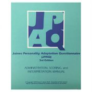 Joines Personality Adaptation Questionnaire  Manual