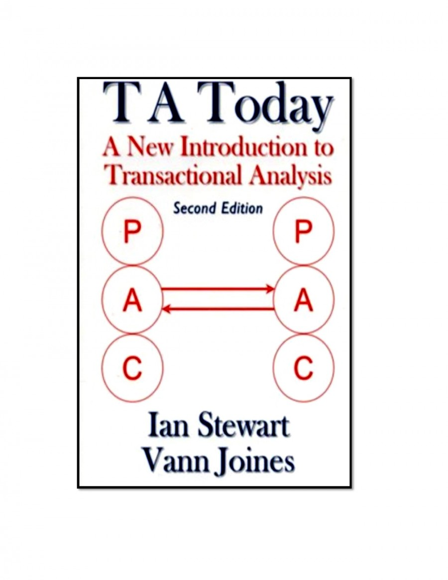 TA Today A New Introduction To Transactional Analysis (Second Edition)