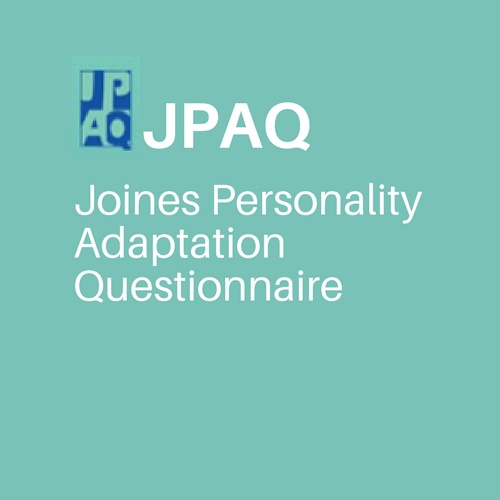 Paper Version: Joines Personality Adaptation Questionnaire  (JPAQ) Manual