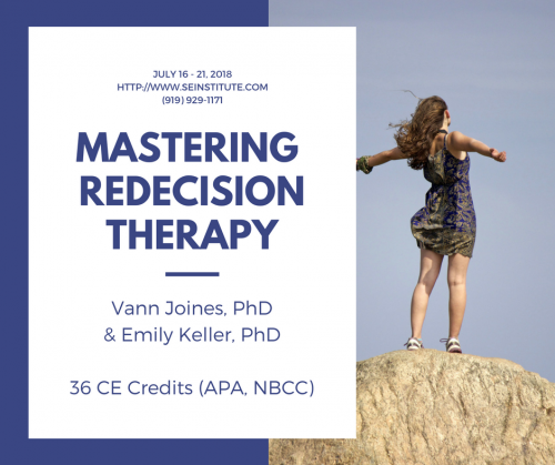 Mastering Redecision Therapy